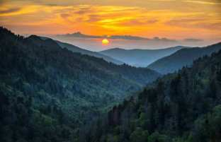 Smoky Mountains-Blue Ridge Parkway